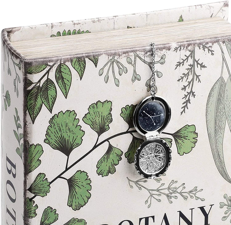 Erwachsene Jungfrau Leser und Freunde zu lesen ist ein praktisches einzigartige Geschenke f/ür Kinder Sch/üler AOTEHU Geburtstags Konstellation Metall Feder Lesezeichen-Geschenkbox-Set