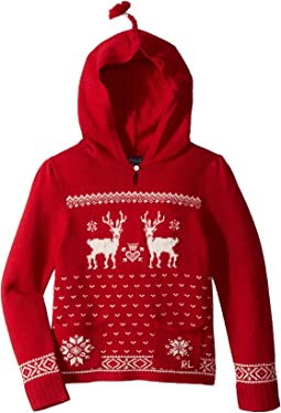 Polo Ralph Lauren Kids - Hooded Sweater (Little Kids)