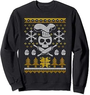 Christmas Baking Sweater Funny Bakers Skull Gift Sweat Shirt