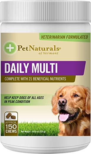 Pet Naturals - Daily Multi for Dogs, Daily Multivitamin Formula,...