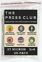 Best 36 micron rosin bags Reviews