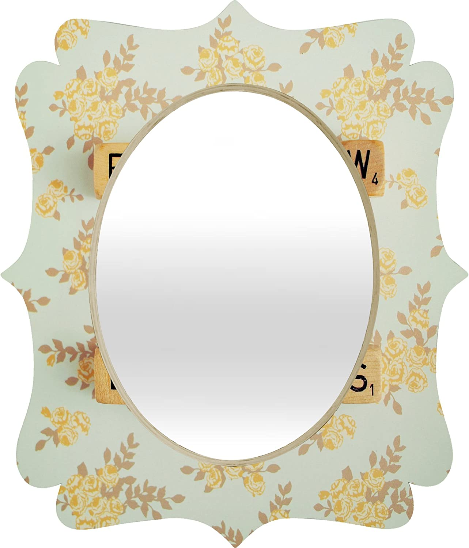 Deny Designs Happee Monkee Baroque Mirror, Follow Your Dreams