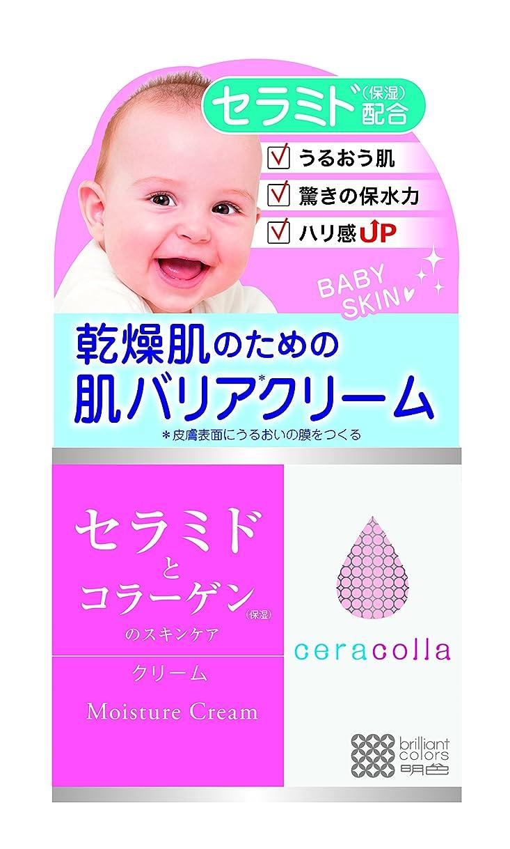 胸嵐のプレゼンター明色化粧品 セラコラ 保湿クリーム 50g
