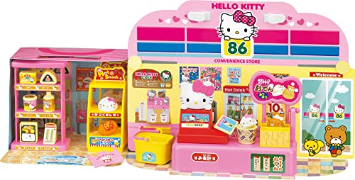 Hello Kitty package and spread  Welcome to the convenience store