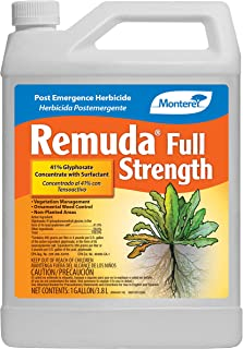 Monterey LG5190 Remuda Full Strength, Non-Selective Post Emergence Herbicide, 1 Gal, 1 Gal