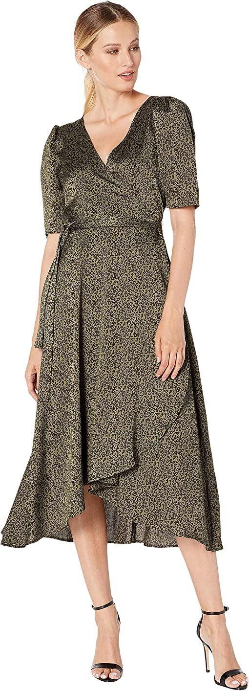 Ditsy Leopard Olive