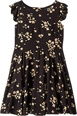 Floral Fit and Flare Dress (Little Kids)