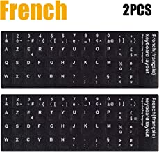 the keyboard in french