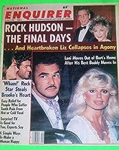 Burt Reynolds & Loni Anderson l Elizabeth Taylor & Rock Hudson l Brooke Shields & George Michael - October 1, 1985 National Enquirer