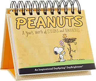 DaySpring Peanuts - Smiles and Blessings - Perpetual Calendar - 75668
