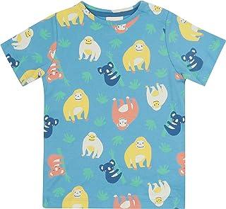 Piccalilly T-shirt à manches courtes en jersey bio pour enfant de 6 à 12 mois jusqu'à 9 ans