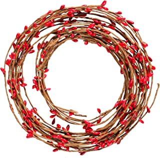 red berry tree garland