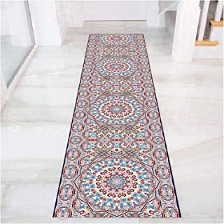 HAIPENG Very Long Hallway Runner Rug, Soft Hall Entryway Carpet Runners with Anti Slip Backing for Corridor Doorway Kitche...