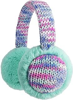 Flammi Kids Knit Earmuffs Winter Outdoor Furry Ear Warmers for Boys Girls