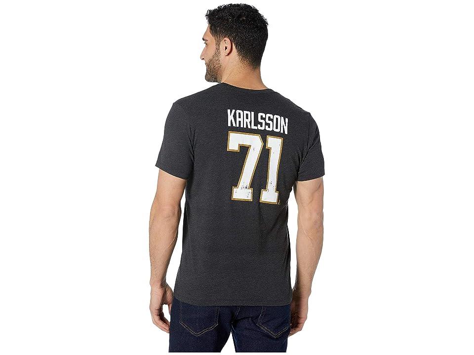 '47 Vegas Golden Knights Karlsson Distressed MVP Club Tee  Black