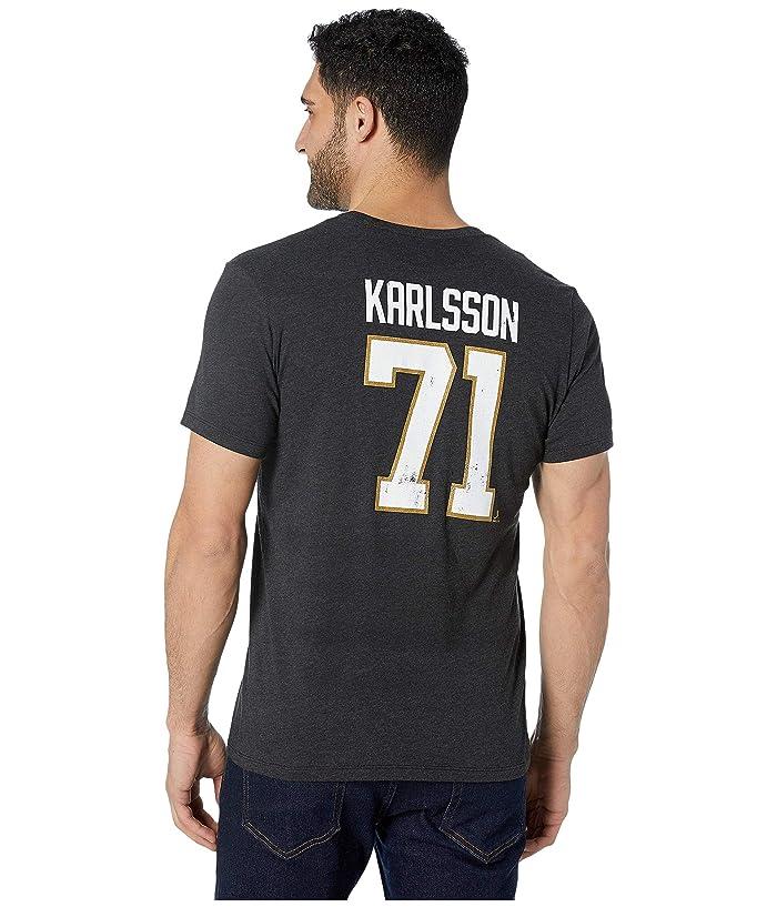 Vegas Golden Knights Karlsson Distressed MVP Club Tee Black