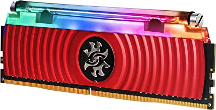XPG Spectrix D80 Liquid-Cooled RGB DDR4 3600MHz 16GB (2x8GB) 288-Pin PC4-28800 Desktop U-DIMM Memory Retail Kit (AX4U36003...