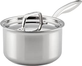 Breville Thermal Pro Stainless Steel Sauce Pan/Saucepan with Lid, 2 Quart, Silver