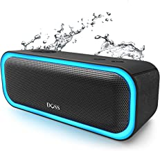 Bluetooth Speakers, DOSS SoundBox Pro Portable Wireless Bluetooth Speaker with 20W Stereo Sound, Active Extra Bass, IPX5 W...