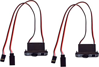 Apex RC Products Futaba Style Heavy Duty On/Off Switch W/ Charge Port - 2 Pack #1057