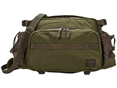 Filson Ripstop Nylon Waist Pack (Surplus Green) Handbags