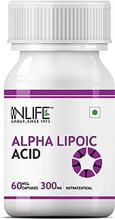Inlife Alpha Lipoic Acid 300Mg (60 Vegetarian Capsules)