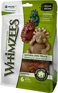 Whimzees Large Hedgehog Dog Treats 6pcs 360g