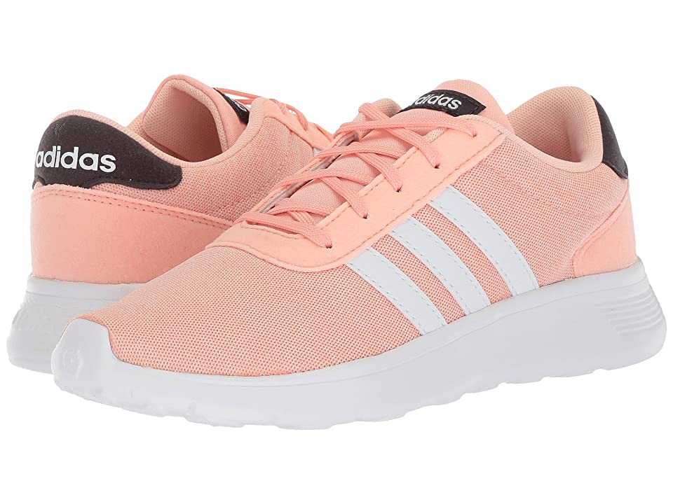 adidas Kids Lite Racer (Little Kid/Big Kid) (Haze Coral/White/Carbon) Kids Shoes