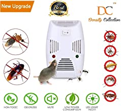 ADTALA Density Collection Non-Toxic Ultrasonic Pest Repeller for Spider Lizard Mice Mosquito, Ant, Flea, Rats, Roaches, Cockroaches, Fruit Fly, Rodent, Insect (White)