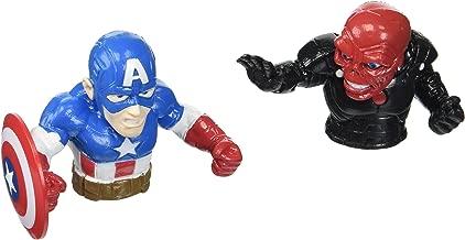 Marvel Captain America vs Red Skull Finger Fighters Action Figures