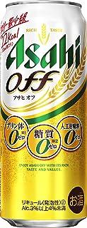 【プリン体ゼロ・糖質ゼロ カロリー最少級】アサヒオフ [ ビール 500ml×24本 ]