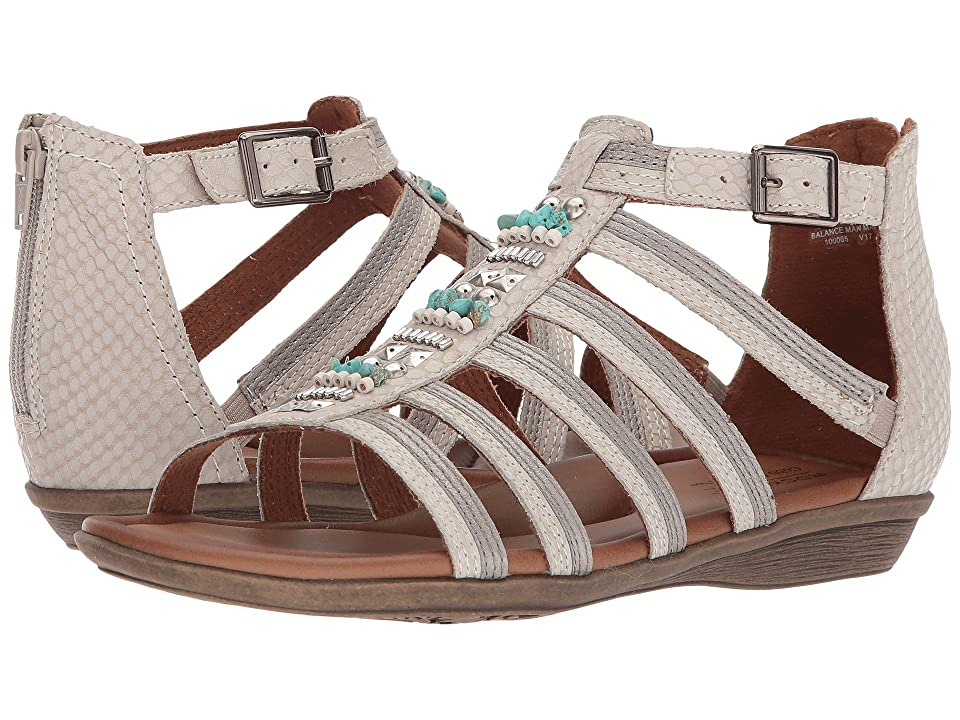 Rockport Cobb Hill Collection Jamestown Gladiator (White Multi Leather) Women