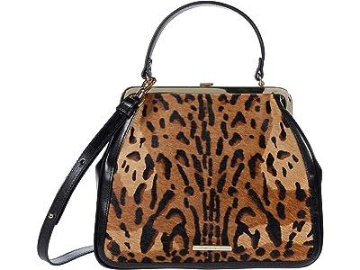 Brahmin Reyka Emmy Satchel (Tan) Handbags