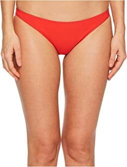 Tory Burch Swimwear Solid Low Rise Hipster Bottom