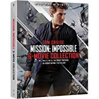 Mission: Impossible - 6 Movie Collection on Blu-ray