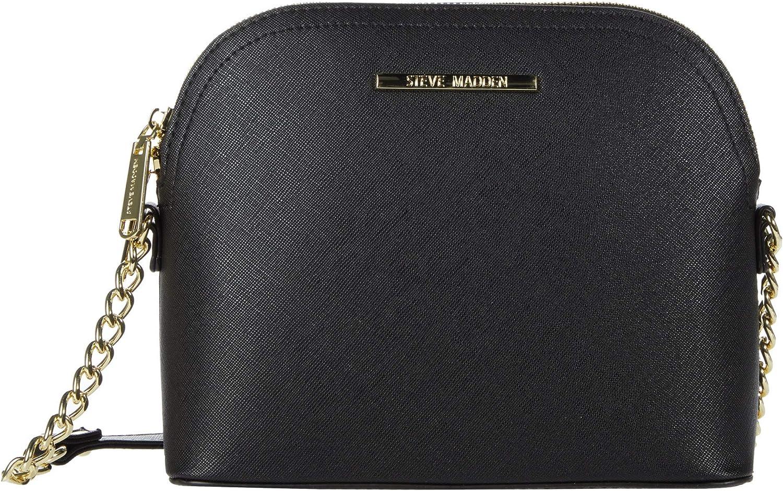 Steve Madden Handbags Dt571120 Black Handbag OneSize US: Handbags:  Amazon.com
