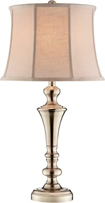 Stein World 99842 Camille Table Lamp, Brushed Steel