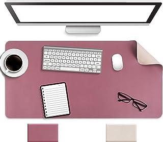 Non-Slip Desk Pad, Waterproof PVC Leather Desk Table...