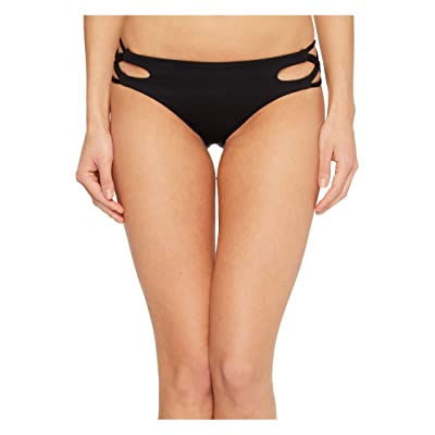Isabella Rose Paradise Maui Bikini Bottom (Black) Women