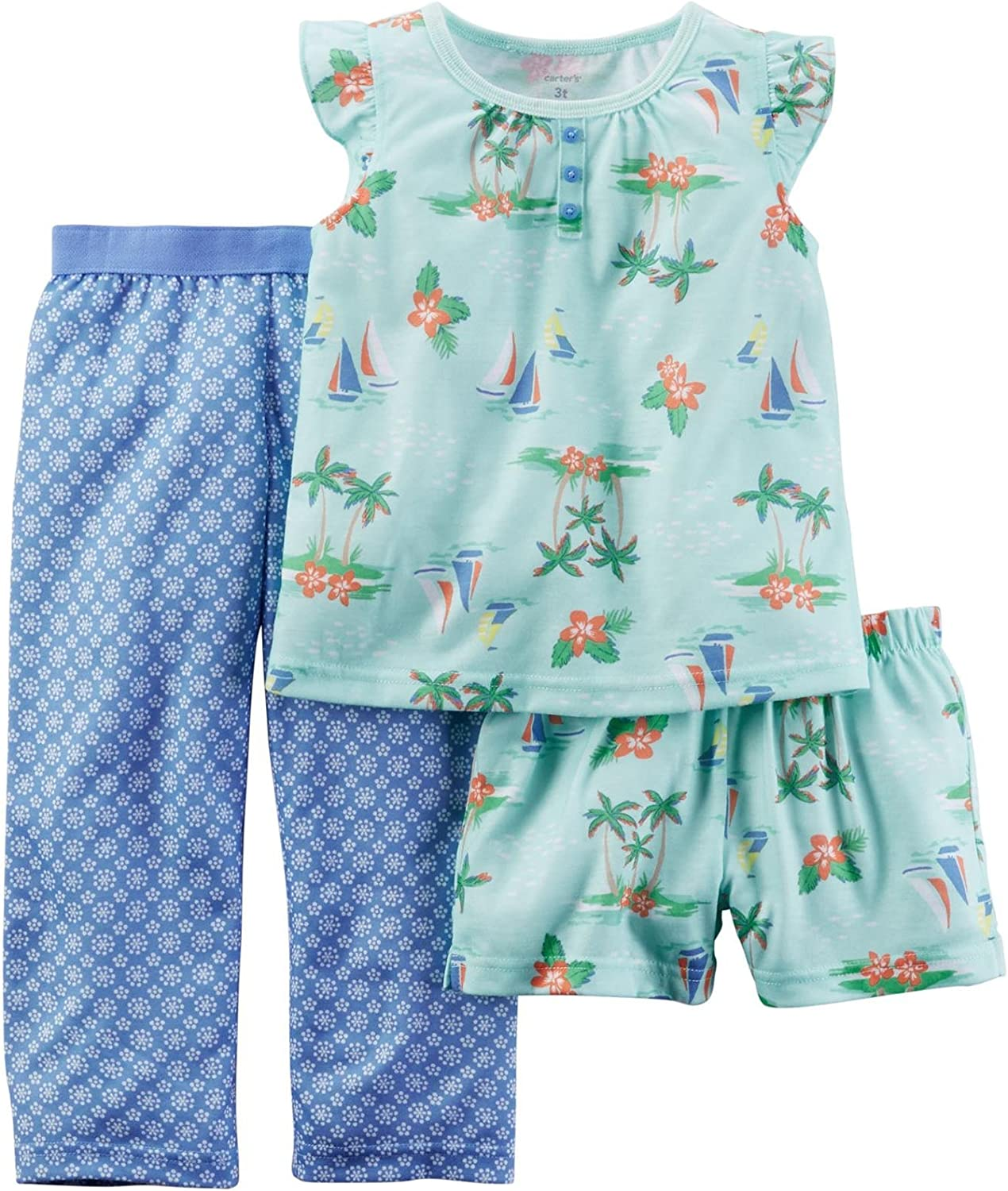 Carter's Baby Girls' 3 Pc Poly 333g034