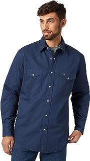 Wrangler Men`s Flannel Lined Work Shirt
