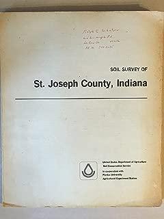 Soil survey of St. Joseph County, Indiana (Soil survey series 1938)