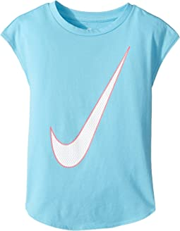 Nike Kids - Just Do It Back Modern Tee (Little Kids)