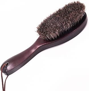馬毛洋服ブラシ スーツブラシ 洋服 ブラシ カシミヤ用 馬毛ブラシ シューズブラシ 靴ブラシ 靴磨き 木製長柄  ほこり 花粉 汚れ 除去
