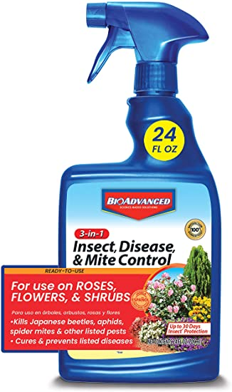 BIOADVANCED 701290B Fungicide 3-in-1