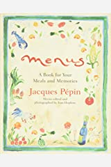 Menus: A Book for Your Meals and Memories Hardcover