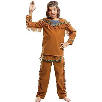 My Other Me Me-203395 Disfraz de indio velvet para niño, 5-6 años ...