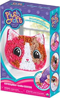 THE ORB FACTORY LIMITED 10027977 Plush Craft Kitten Pillow, 7.5