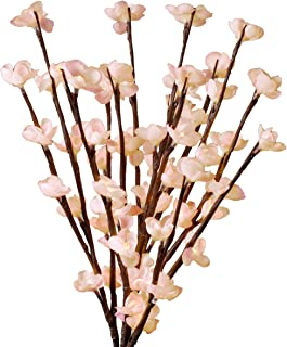 Everlasting Glow LED 20-Inch Battery Operated Cherry Blossom Branch, Pink Detail