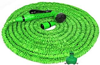 Incredible Expanding Magic Hose With Sprayer Nozzle - 30 m - Green